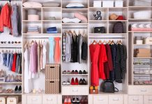 closet reorganization